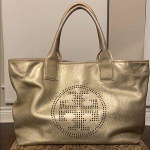 Tory Burch gold shoulder bag